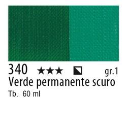 340 - Maimeri Brera Acrylic Verde permanente scuro