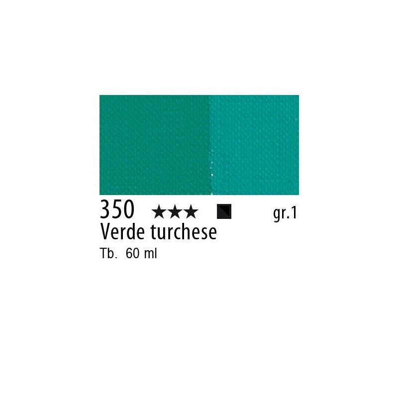350 - Maimeri Brera Acrylic Verde turchese