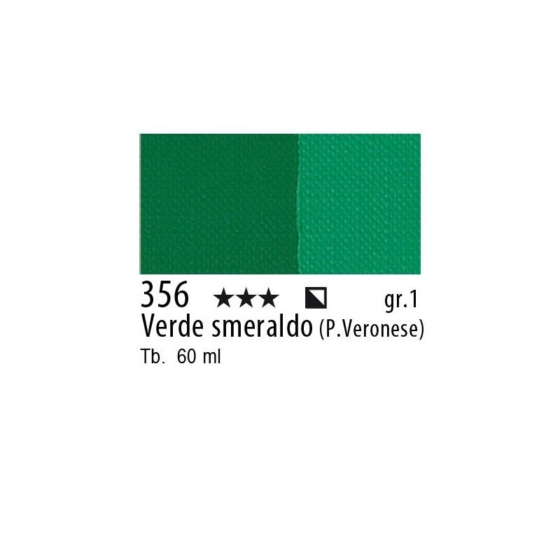 356 - Maimeri Brera Acrylic Verde smeraldo (P.Veronese)