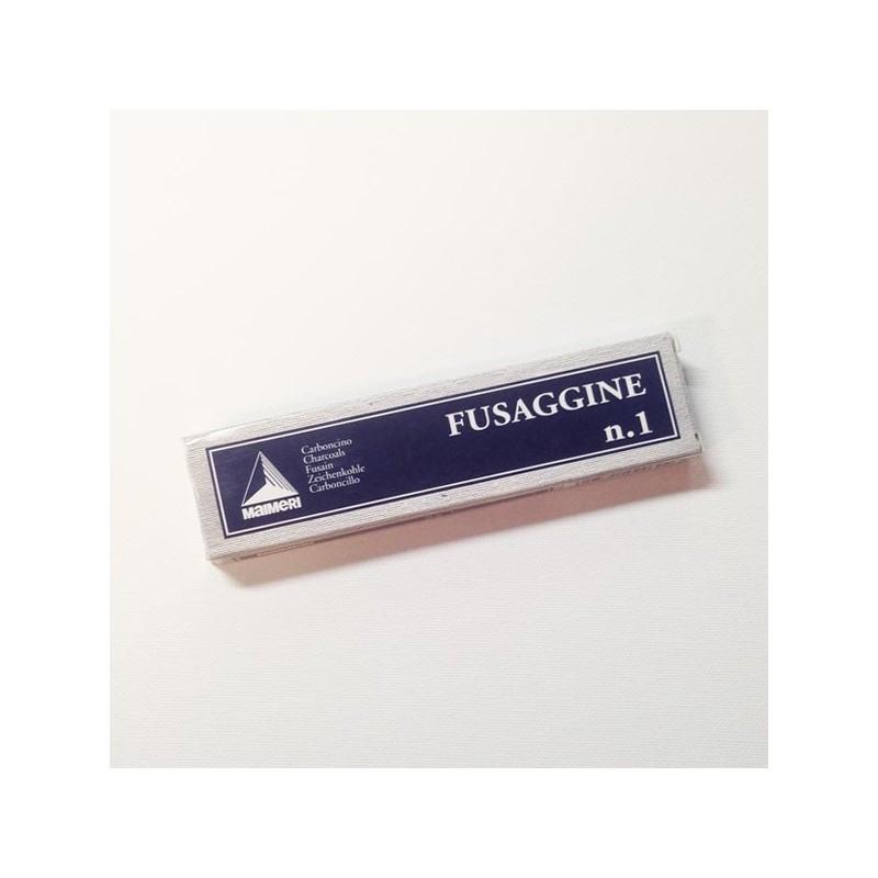 Maimeri Fusaggine - Carboncino, cannello sottile n.1, scatola 5 pezzi