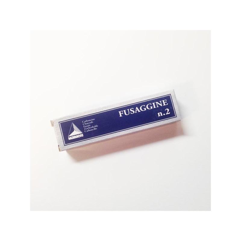 Maimeri Fusaggine - Carboncino, cannello medio n.2, scatola 5 pezzi