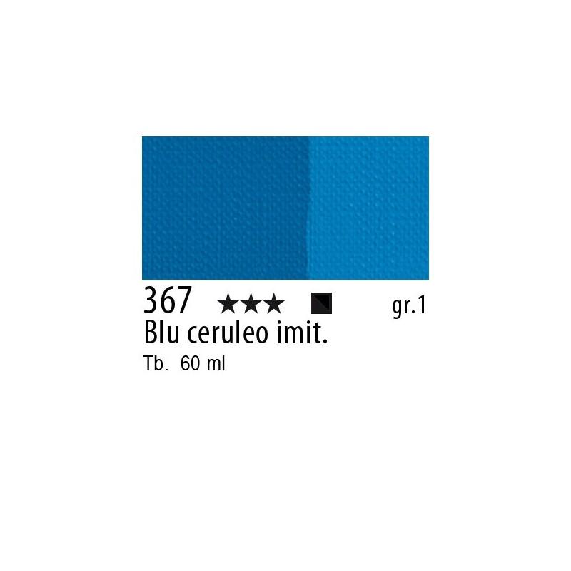 367 - Maimeri Brera Acrylic Blu ceruleo imit.
