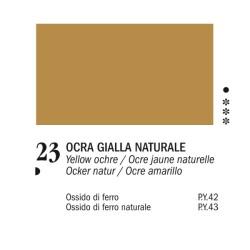 23 - Ferrario Olio Van Dyck Ocra gialla naturale - tubo 60ml