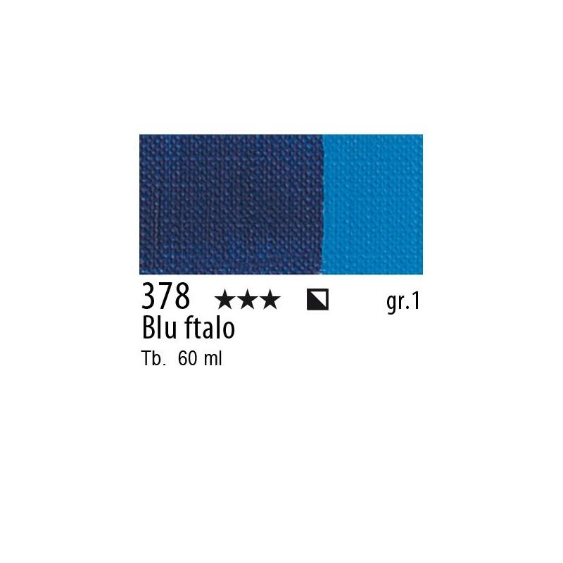 378 - Maimeri Brera Acrylic Blu ftalo