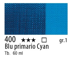 400 - Maimeri Brera Acrylic Blu primario Cyan