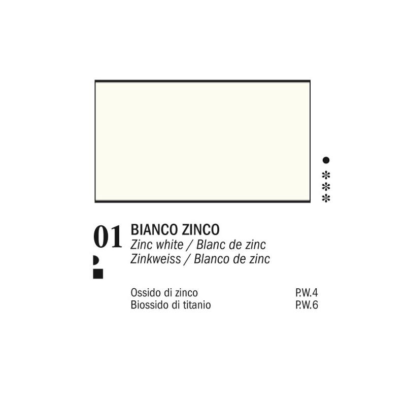 01 - Ferrario Olio Van Dyck Bianco zinco