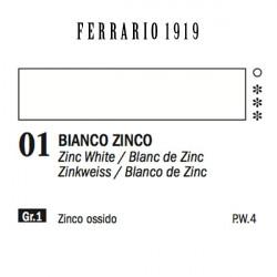 001 - Ferrario Olio 1919 Bianco di zinco