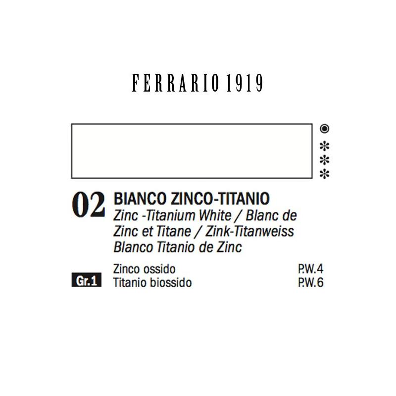 002 - Ferrario Olio 1919 Bianco di zinco-titanio