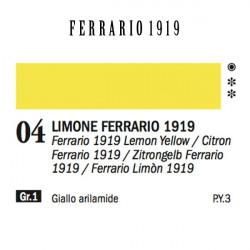 004 - Ferrario Olio 1919 Limone ferrario 1919