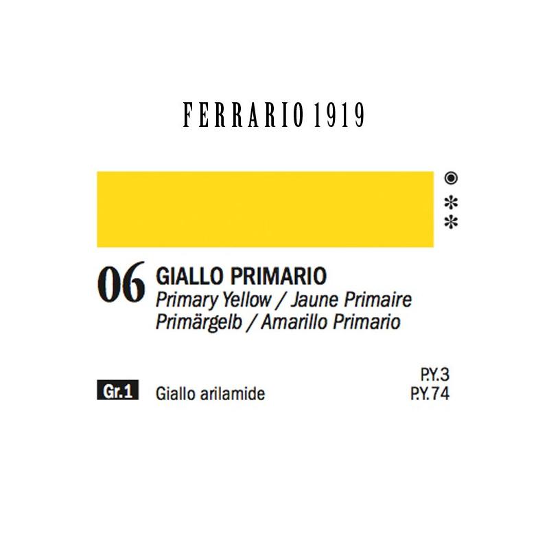 006 - Ferrario Olio 1919 Giallo primario