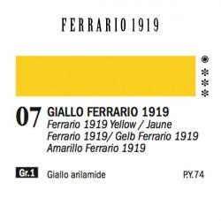 007 - Ferrario Olio 1919 Giallo ferrario 1919