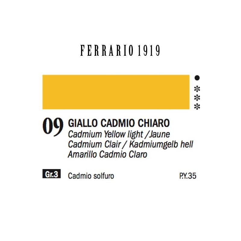 009 - Ferrario Olio 1919 Giallo cadmio chiaro
