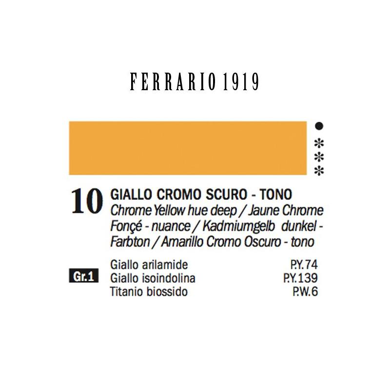 010 - Ferrario Olio 1919 Giallo cromo scuro