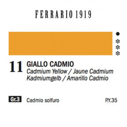 011 - Ferrario Olio 1919 Giallo cadmio medio