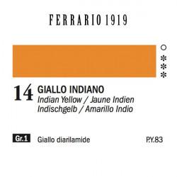 014 - Ferrario Olio 1919 Giallo indiano