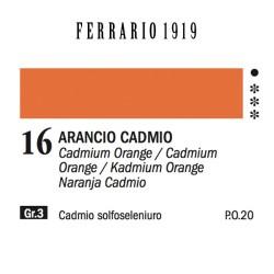016 - Ferrario Olio 1919 Arancio cadmio