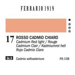 017 - Ferrario Olio 1919 Rosso cadmio chiaro