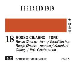 018 - Ferrario Olio 1919 Rosso cinabro