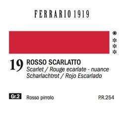 019 - Ferrario Olio 1919 Rosso scarlatto