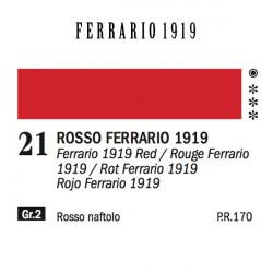021 - Ferrario Olio 1919 Rosso ferrario 1919