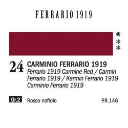 024 - Ferrario Olio 1919 Carminio ferrario 1919