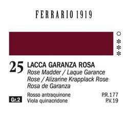025 - Ferrario Olio 1919 Lacca garanza rosa