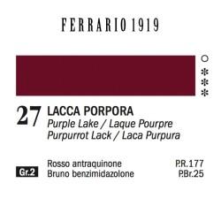 027 - Ferrario Olio 1919 Lacca porpora