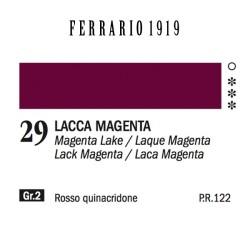 029 - Ferrario Olio 1919 Lacca magenta