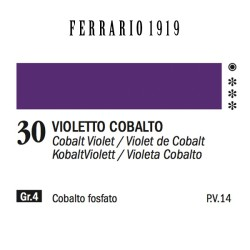 030 - Ferrario Olio 1919 Violetto cobalto