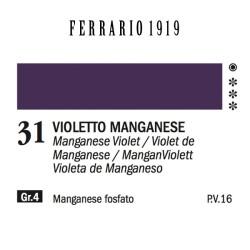 031 - Ferrario Olio 1919 Violetto manganese