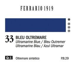 033 - Ferrario Olio 1919 Bleu oltremare