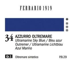 034 - Ferrario Olio 1919 Azzurro oltremare
