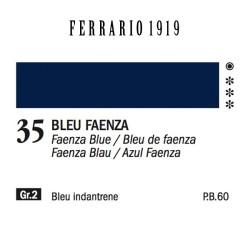 035 - Ferrario Olio 1919 Bleu faenza