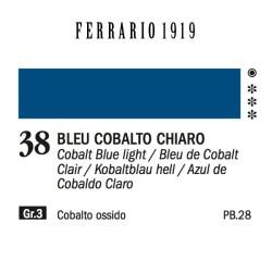 038 - Ferrario Olio 1919 Bleu cobalto chiaro