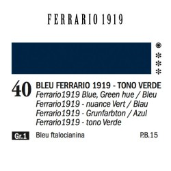 040 - Ferrario Olio 1919 Bleu ferrario 1919 (tono verde)