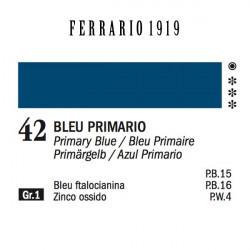 042 - Ferrario Olio 1919 Bleu primario