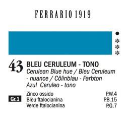 043 - Ferrario Olio 1919 Bleu ceruleum - tono