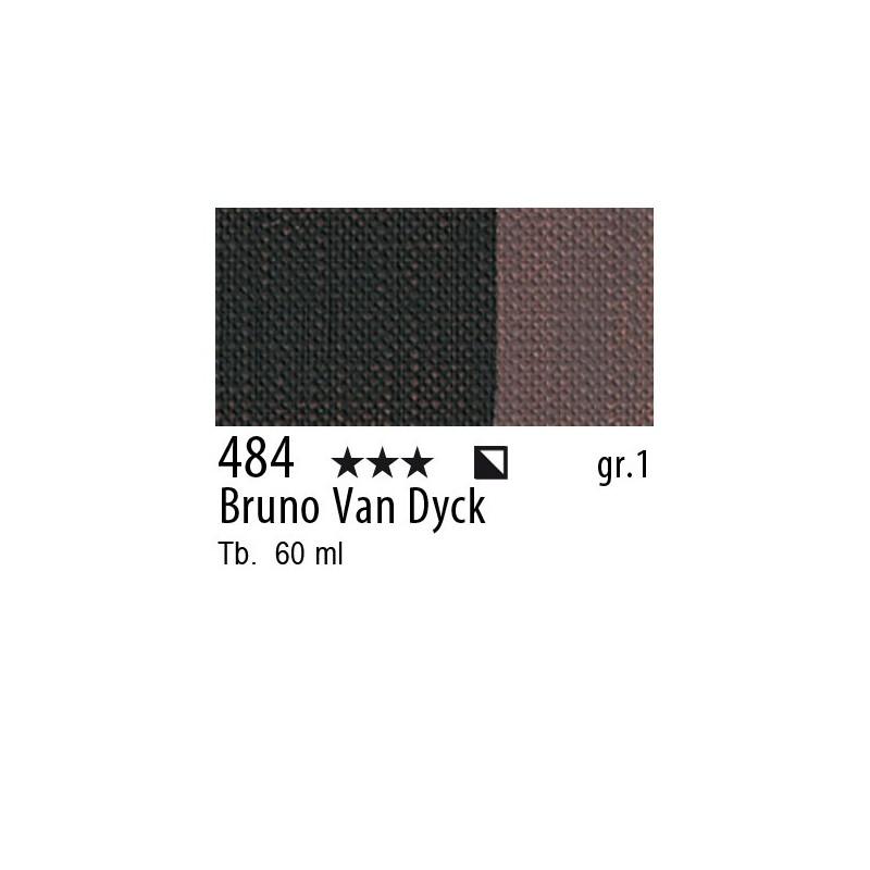 484 - Maimeri Brera Acrylic Bruno Van Dyck