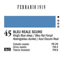 045 - Ferrario Olio 1919 Bleu reale scuro