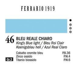 046 - Ferrario Olio 1919 Bleu reale chiaro