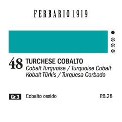 048 - Ferrario Olio 1919 Turchese cobalto