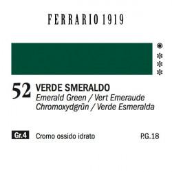052 - Ferrario Olio 1919 Verde smeraldo