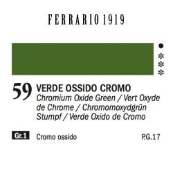 059 - Ferrario Olio 1919 Verde ossido cromo