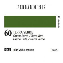 060 - Ferrario Olio 1919 Terra verde