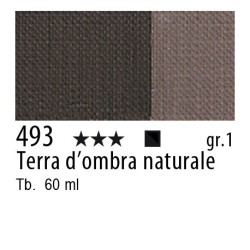 493 - Maimeri Brera Acrylic Terra d'ombra naturale