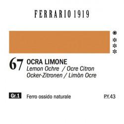 067 - Ferrario Olio 1919 Ocra limone