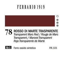 078 - Ferrario Olio 1919 Rosso di marte trasparente