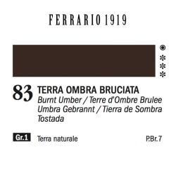 083 - Ferrario Olio 1919 Terra ombra bruciata
