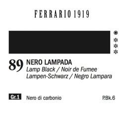089 - Ferrario Olio 1919 Nero lampada