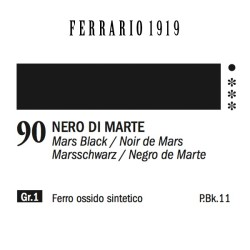 090 - Ferrario Olio 1919 Nero di marte